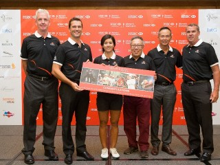 From left to right - Mark Adams, Daniel Fitzpatrick, Koh Sock Hwee, HCQ 2016 Winner, Mr. Low Teo Ping, Wong Yik Mun and Andy Johnston